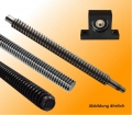 trapezoidal threaded spindle