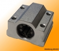 Igus Linear plain bearing with housing