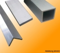 Light metal profiles not anodized, symmetric, AL 6060