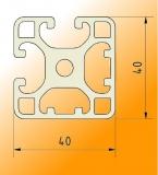 Profile 40x40 2NVS I-Type slot 8