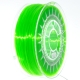 3D Filament PET-G 1,75mm bright green transparent (Made in Europe)