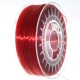 3D Filament PET-G 1,75mm ruby red transparent (Made in Europe)