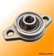 Flange Bearing 12mm die-cast KFL001