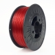 3D Filament PET-G 1,75mm ruby red transparent Alcia 3DP