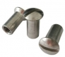 Sleeve nut M6 x 16 mm stainless steel, lens head with slit